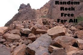 Random Rock Free For All